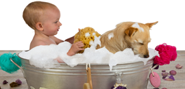 Bath Time Made Easy (Really!)