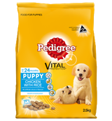 Pedigree Puppy with Chicken Rice 2.5kg
