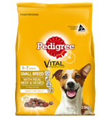 Pedigree Small Breed with Real Beef Veg 2.5kg