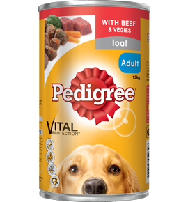 Pedigree Loaf Beef & Vegetables