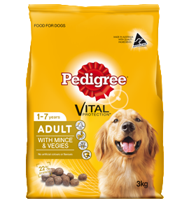 Pedigree Adult with Mince Veg 8Kg